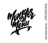 logo for the design of cafes ... | Shutterstock .eps vector #1992692342