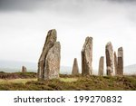 ring of brodgar  orkney ... | Shutterstock . vector #199270832