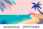 summer time fun concept design. ... | Shutterstock .eps vector #1992716402