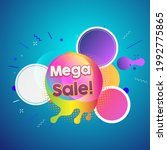 maga sale. discount promotional ... | Shutterstock .eps vector #1992775865