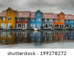 Reitdiephaven  Colorful Houses...