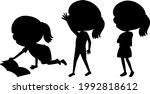 cartoon character of kids... | Shutterstock .eps vector #1992818612