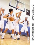 male high school basketball... | Shutterstock . vector #199288172
