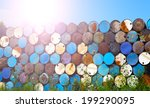 oil barrels | Shutterstock . vector #199290095