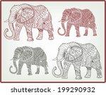 Tribal Ethnic Elephants...
