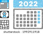 mosaic 2022 month calendar icon ...   Shutterstock .eps vector #1992911918