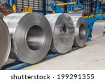 cold rolled steel coils in... | Shutterstock . vector #199291355