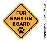 funny car sticker. car decal.... | Shutterstock .eps vector #1993025465