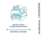 social action and citizen... | Shutterstock .eps vector #1993043498