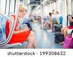 beautiful blonde caucasian lady ...   Shutterstock . vector #199308632