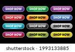shop now action button  ... | Shutterstock .eps vector #1993133885