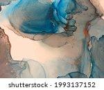 Black Background Marble Paint....