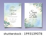 hand drawn greenery floral...   Shutterstock .eps vector #1993139078