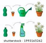 fertilizers  watering can ...   Shutterstock .eps vector #1993165262