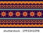 geometric oriental tribal... | Shutterstock .eps vector #1993341098