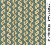 pattern with serrated stripes ... | Shutterstock .eps vector #1993352612
