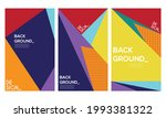 background abstract pattern... | Shutterstock .eps vector #1993381322