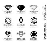 diamonds | Shutterstock .eps vector #199338812