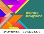 abstract vector background and... | Shutterstock .eps vector #1993395278
