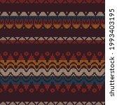 seamless ethnic ornament... | Shutterstock .eps vector #1993403195