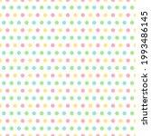 Colorful Polka Dot Seamless...