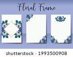 wedding invitation watercolor...   Shutterstock .eps vector #1993500908