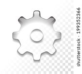 transparent settings icon | Shutterstock .eps vector #199352366