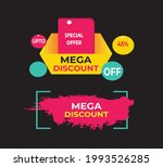 flyer  template  number plate ... | Shutterstock .eps vector #1993526285