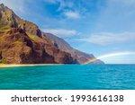 View Of A Rainbow Off Of Kauai...