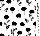 seamless pattern poppies...   Shutterstock .eps vector #1993716275