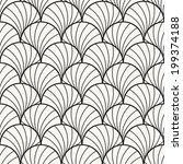 seamless pattern. stylish... | Shutterstock .eps vector #199374188