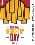 national french fry day. july...   Shutterstock .eps vector #1993786775