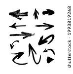 art illustration grunge arrows. ...   Shutterstock . vector #1993819268