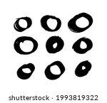 art illustration grunge circle. ...   Shutterstock . vector #1993819322