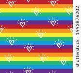 Rainbow Striped Seamless...