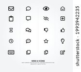 web ui icons and elements to...