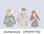 emotion  personality ... | Shutterstock .eps vector #1993997702