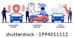 car alarm system  car wash... | Shutterstock .eps vector #1994011112