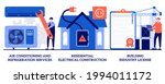 air conditioning and...   Shutterstock .eps vector #1994011172