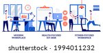 modern workplace  health...   Shutterstock .eps vector #1994011232