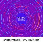 abstract colorful dotted...   Shutterstock .eps vector #1994024285