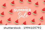 bright summer sale banner... | Shutterstock .eps vector #1994105792