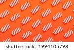 summer banner with sun loungers ... | Shutterstock .eps vector #1994105798