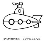 vector submarine for children... | Shutterstock .eps vector #1994133728