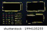 screens hud  ui  gui futuristic ...