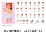 set of children character...   Shutterstock .eps vector #1994165492