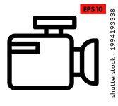 illustration of video camera... | Shutterstock .eps vector #1994193338
