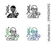 geneticist scientist avatar... | Shutterstock .eps vector #1994206592