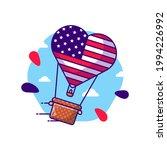 hot air balloon for usa... | Shutterstock .eps vector #1994226992