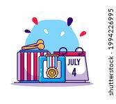 design elements of 4 july... | Shutterstock .eps vector #1994226995